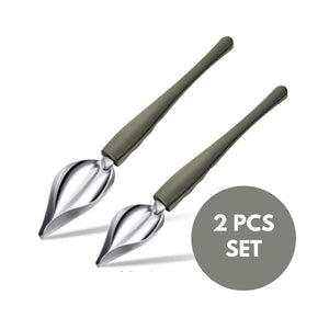 The Plate Decorating Spoons (2 Pcs Set)