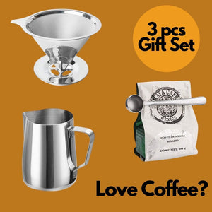 The Coffee Lover's Bundle (Gift Set 3pcs)