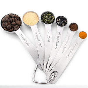 SPOON MEASURING SET (6PCS)