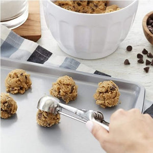 Cookie and Ice Cream Scoop