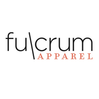 Fulcrum Apparel logo - brand for pumping working moms