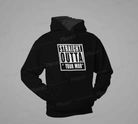 STRAIGHT OUTTA.. (WHITE DESIGN)