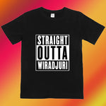 STRAIGHT OUTTA..(White Design)