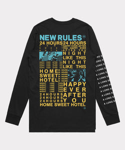 A Longsleeve By - Black