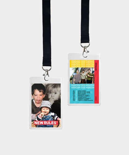 February 2020 Tour Laminate & Lanyard