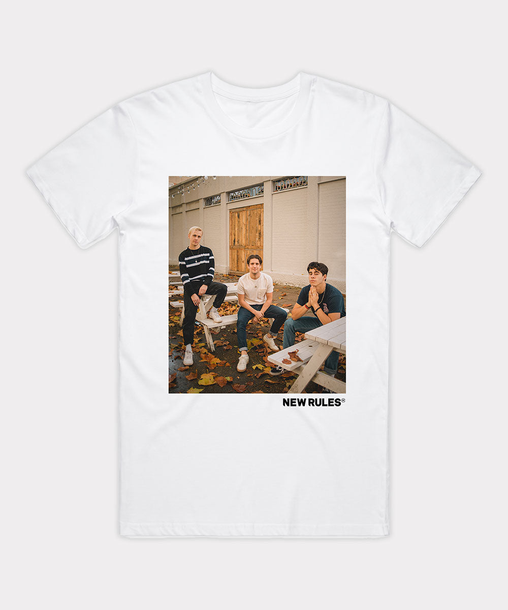 Photo T-shirt - White