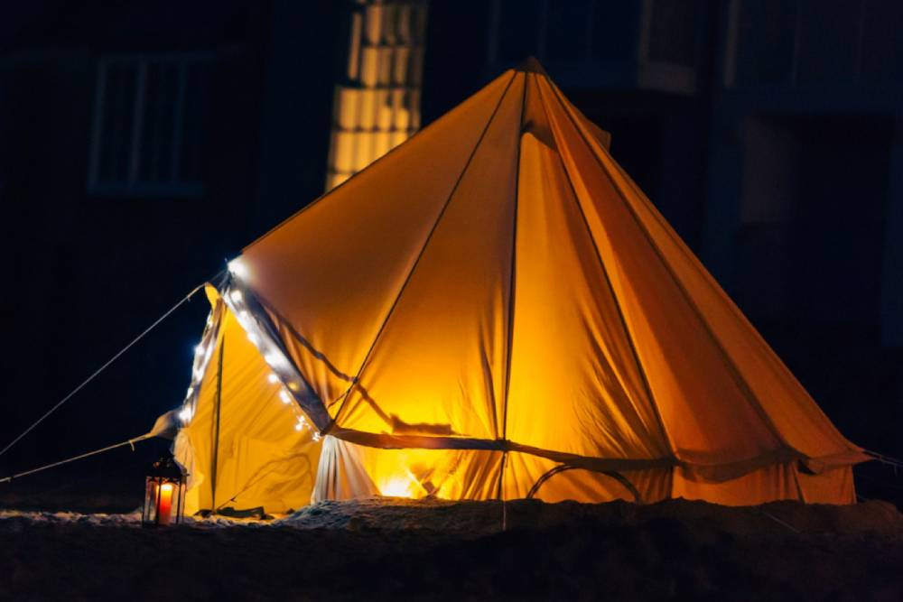 Bell tent image from Cool Canvas Tent Company