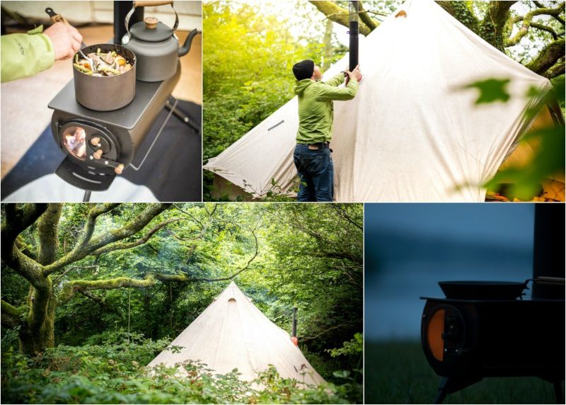Anevay Frontier woodburning stove