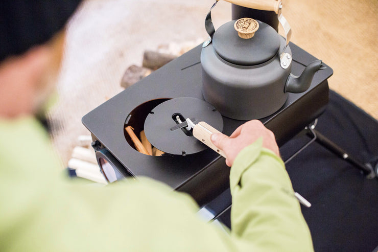 Frontier Stove Removable Top Plate