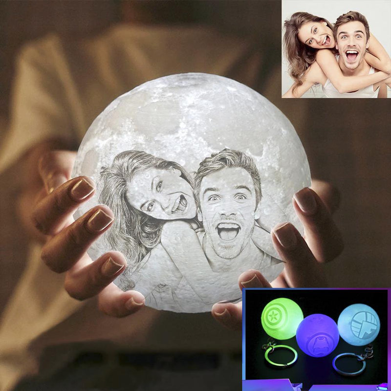 Customized Moon Lamp - customgiftsmall