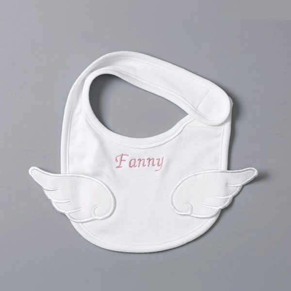 Custom Baby Bib Soft Cotton Angel