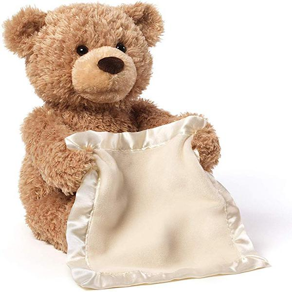 Peek-A-Boo™ Animated Teddy Bear