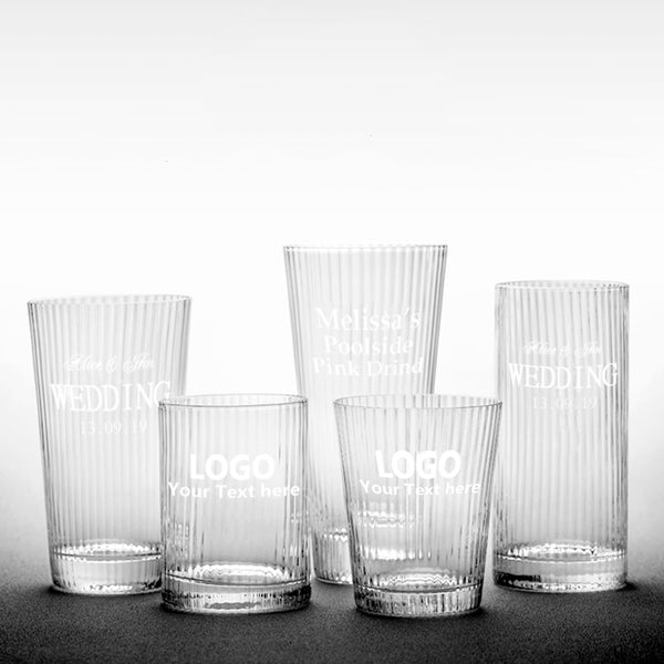 Custom Frosted Juice Glass Cups (Set of 6)