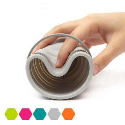 Portable Collapsible Cup&Bowl Creative Outdoor Bowl
