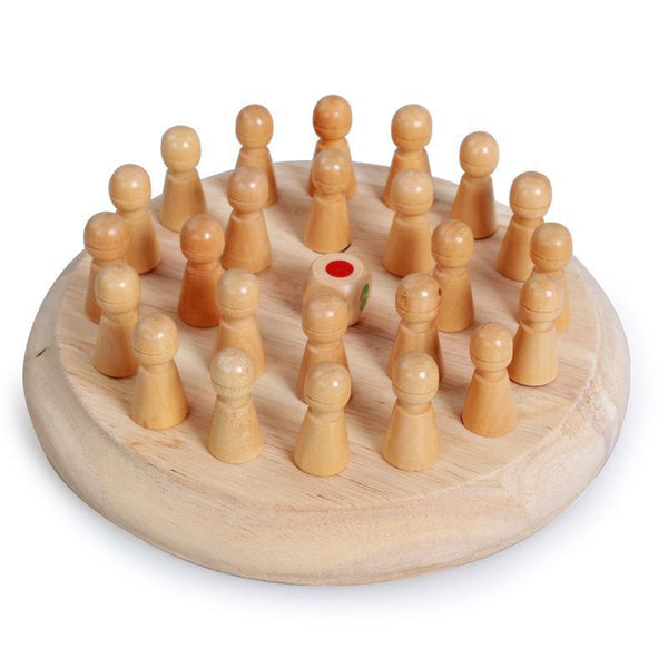 Wooden Memory Match Stick Chess {Free Shipping!}