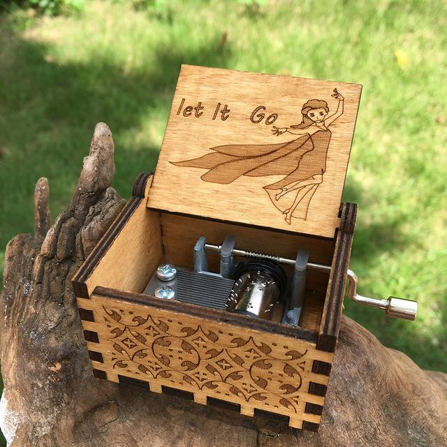 Engraved Music Box For Her For Him Creative Gifts