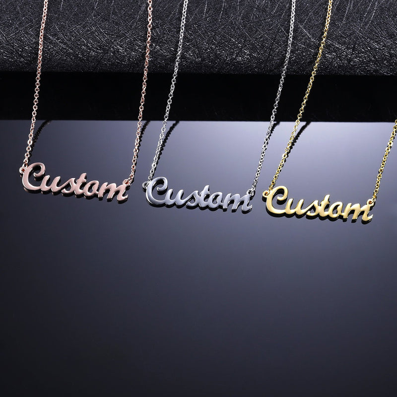 Custom Name Necklace Stylish Gift for Her