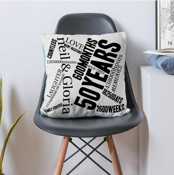 Custom Print Pillow Cover Home Decor Pillow Cover