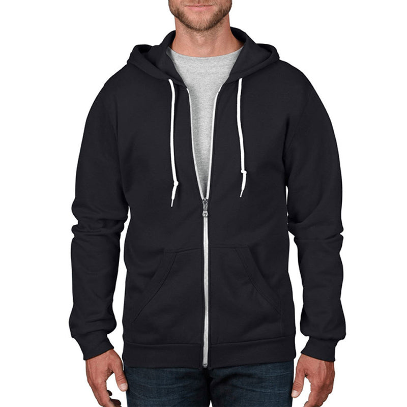 Unisex Zip Up Hoodie Personalize Gift for Couple