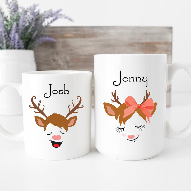 Custom Christmas Mug With Custom Name Gift For Boys And Girls