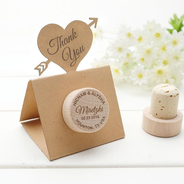Personalized Wine Stoppers Wedding Favors Cork Stoppers Wedding Cards Wedding Gifts for Guests