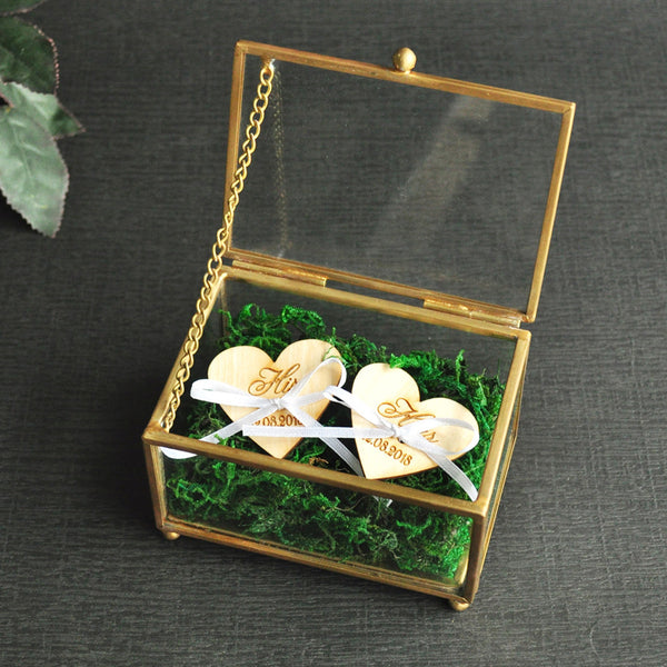 Wedding Ring Box Personalized Engagement Ring Box Jewelry Box Ring Bearer Pillow Newlywed Gift Bridal Gift