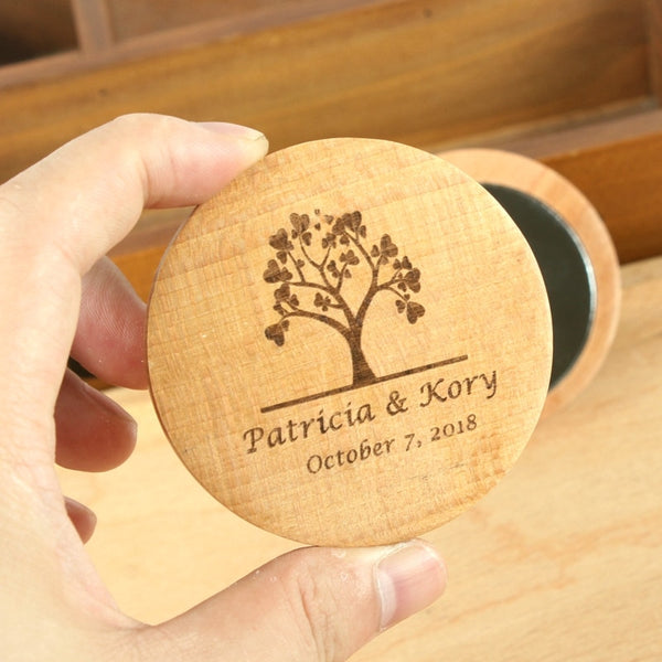 Personalized name date logo Make Up Mirror Bridal Shower Gifts For Guests wedding favors and gifts wedding souvenirs