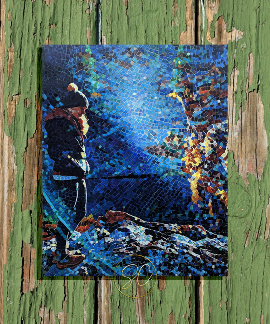 Mosaic Series - Mountain Girl