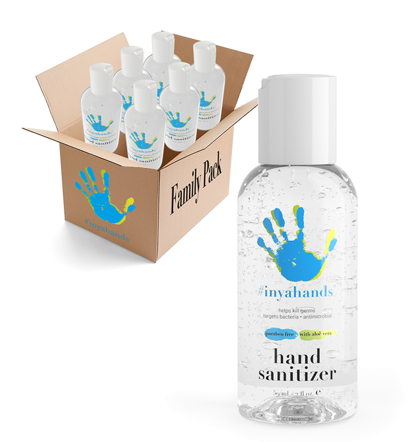 2 oz. Sanitizer Family 6-Pack