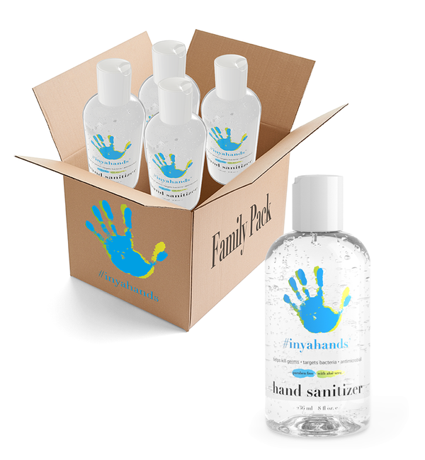 8 oz. Sanitizer Family 4-Pack