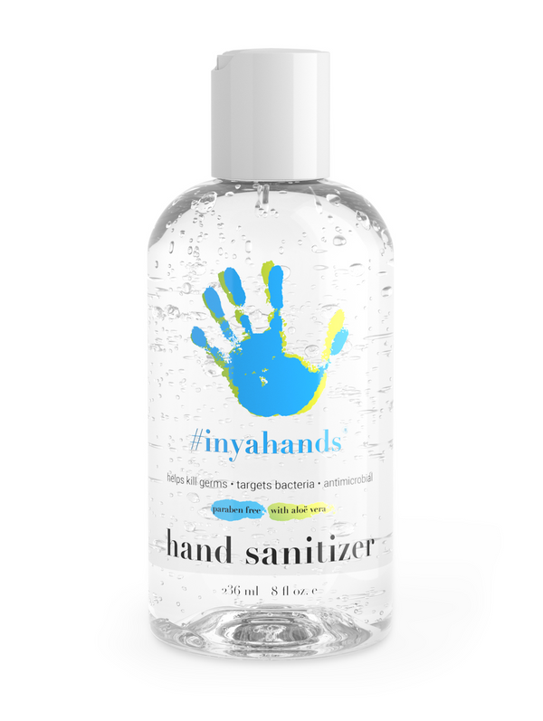 hand sanitizing gel sanitizer inyahands