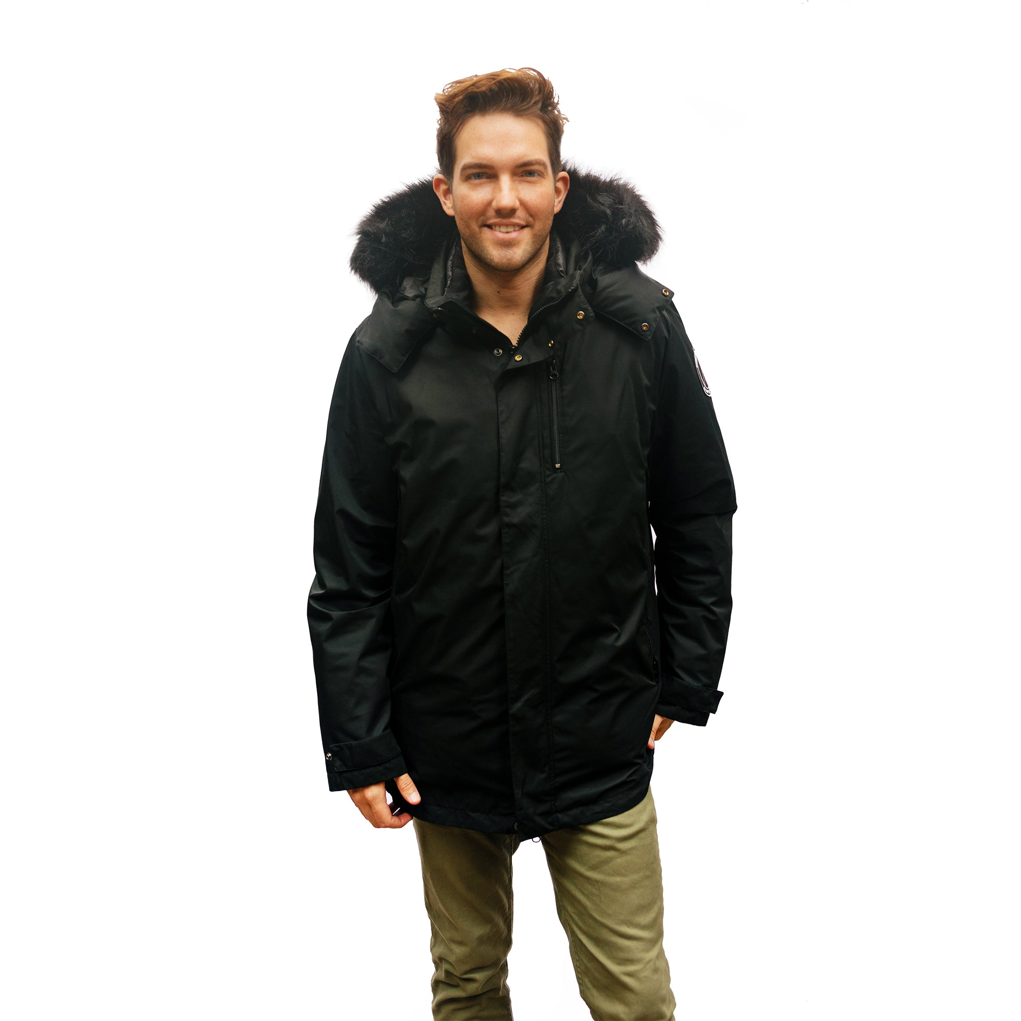 3-in-1 Daniel Parka for men
