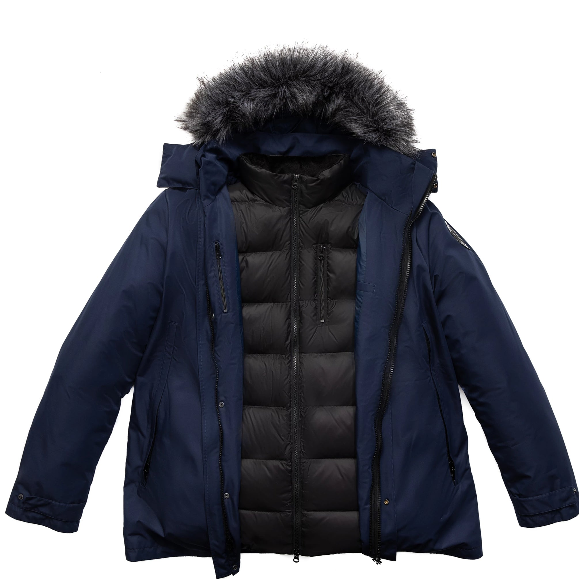 3-in-1 Daniel Parka blue