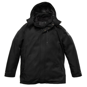 black 3-in-1 Daniel Parka