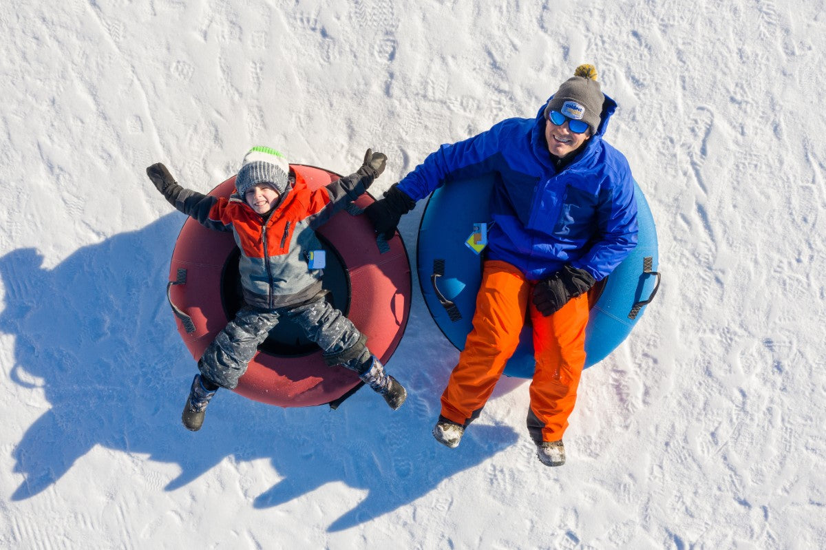 How to Dress for Snow Tubing & Sledding