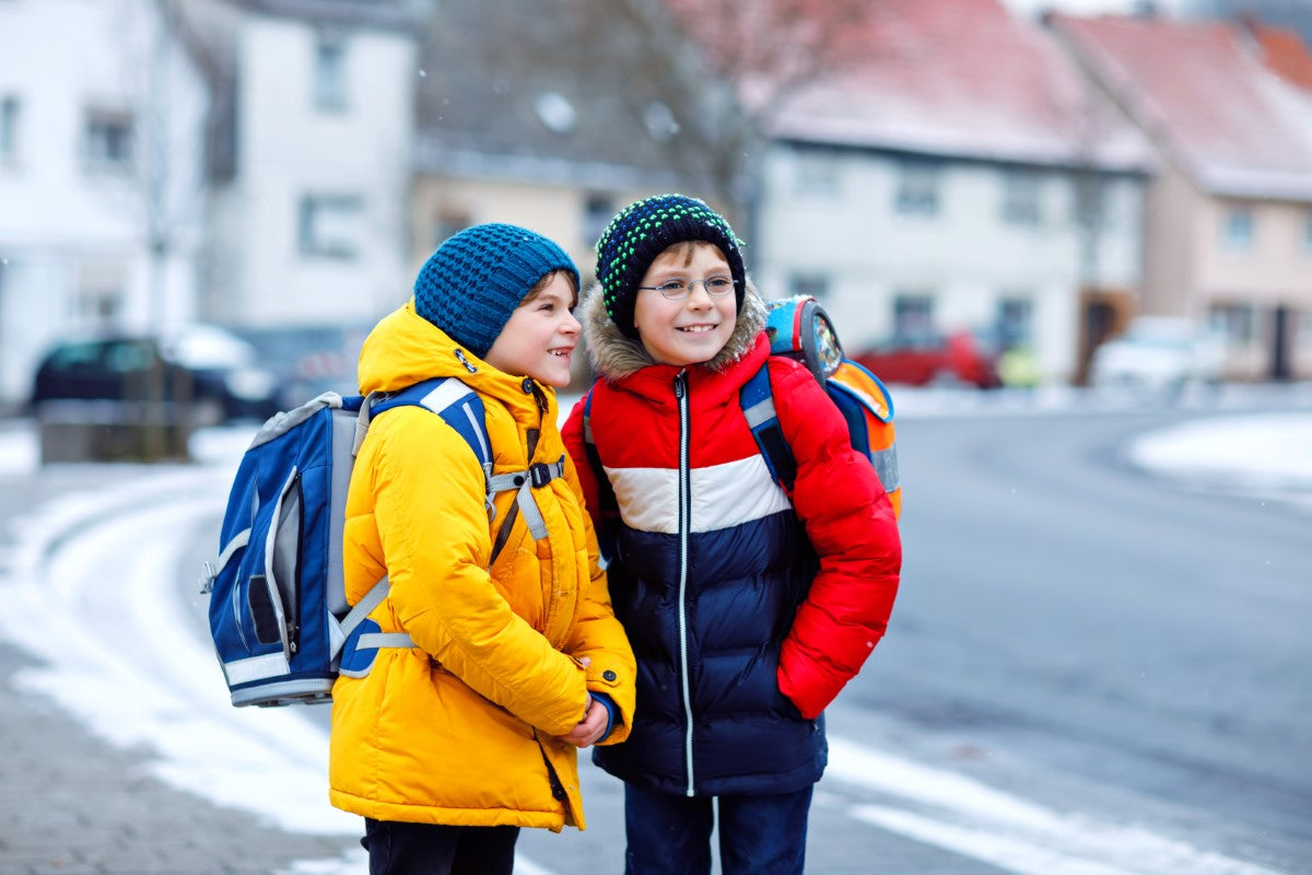 A Boy's Guide to Staying Warm at School