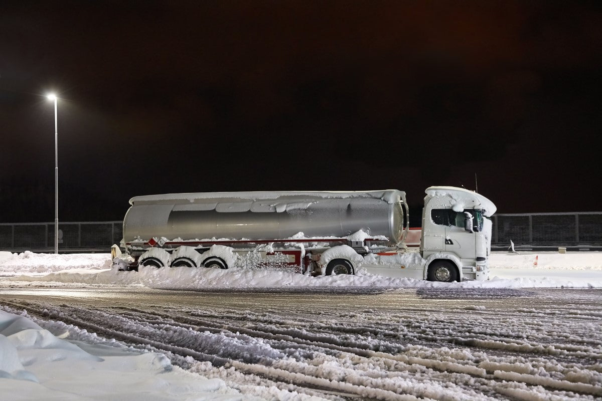 Ice Road Truckers: Driving and Staying Warm in the North