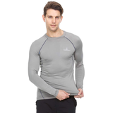 Thermajohn Men's Athletic Compression Shirt - Long Sleeve Raglan
