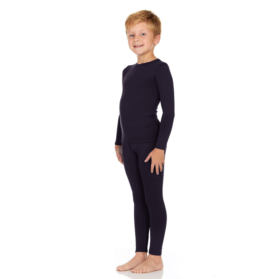 Boy's Ultra Soft Thermal Underwear Set