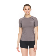 Women's Athletic Compression Shirt - Short Sleeve