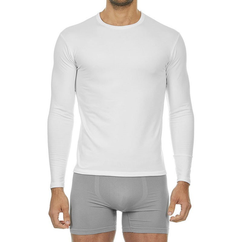 Thermajohn Men's Ultra Soft Thermal Crew Neck Baselayer Shirt