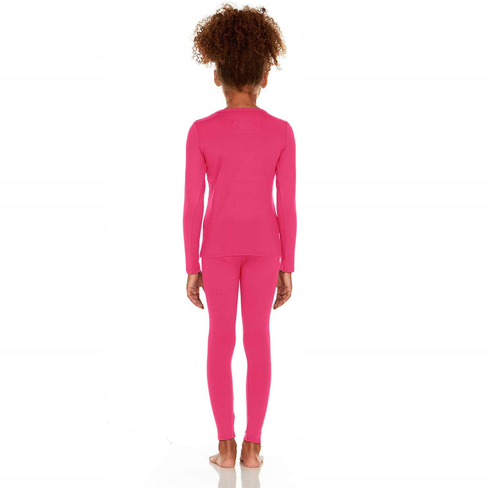 Thermajane Girl's Ultra Soft Thermal Underwear Set