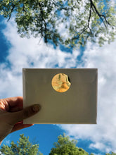 "Load image into Gallery viewer, ""Fly With Me"" Sticker - Gold"