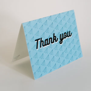 100 Planes to Say Thank You (Single Card)