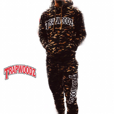 Trapwoodz Soldier Camouflage Sweatsuit