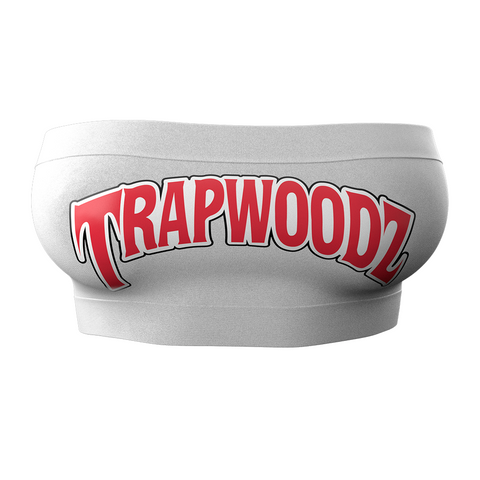 Trapwoodz Original White Tube Top