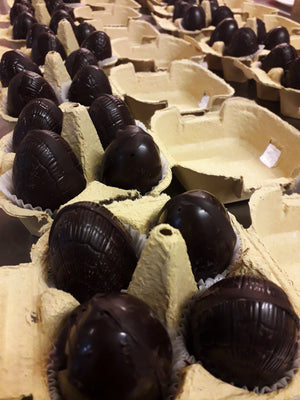 Salted Caramel & Ganache Filled Easter Eggs