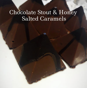 Chocolate Stout  & Honey Salted Caramels