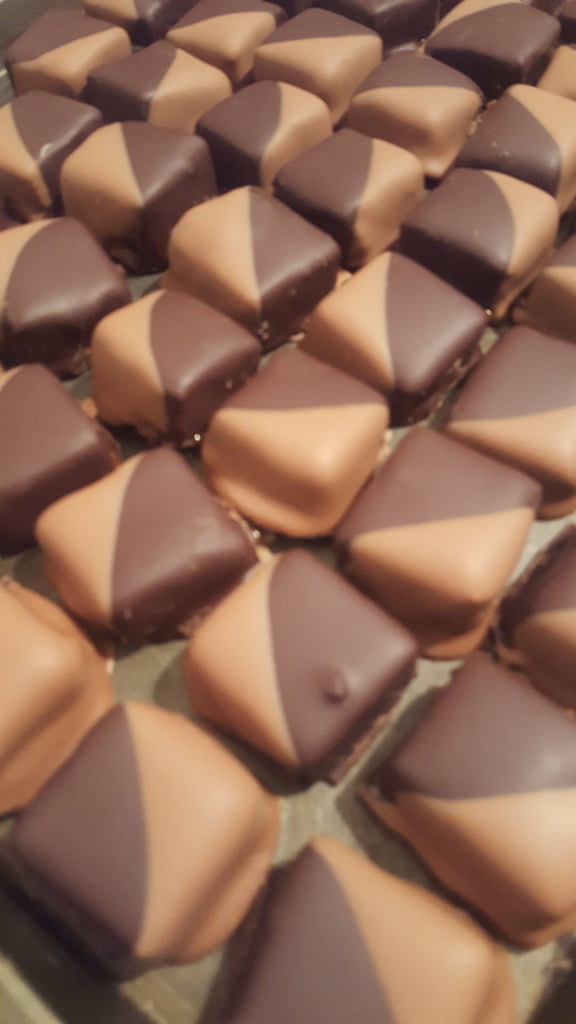 Sour Apple Salted Caramels