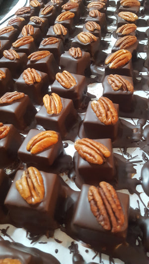 Lone Star: Pecan Gianduja with 5 Spice and Cumin (Vegan)